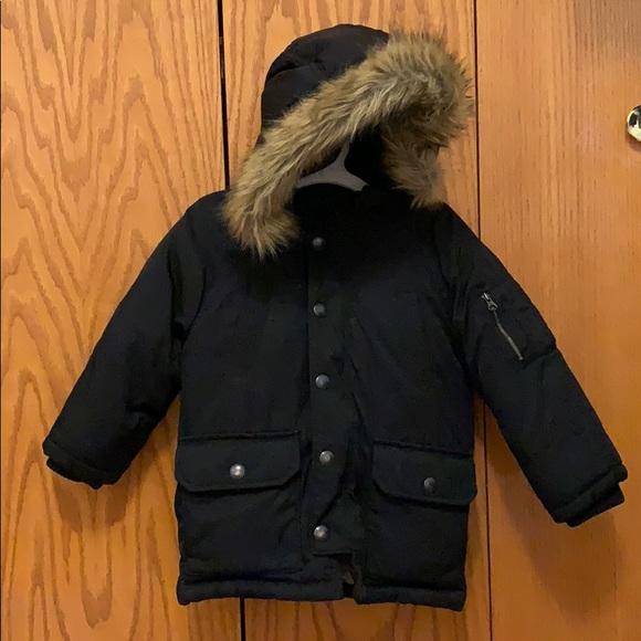 b7f57821b20 Gap boy toddler down jacket